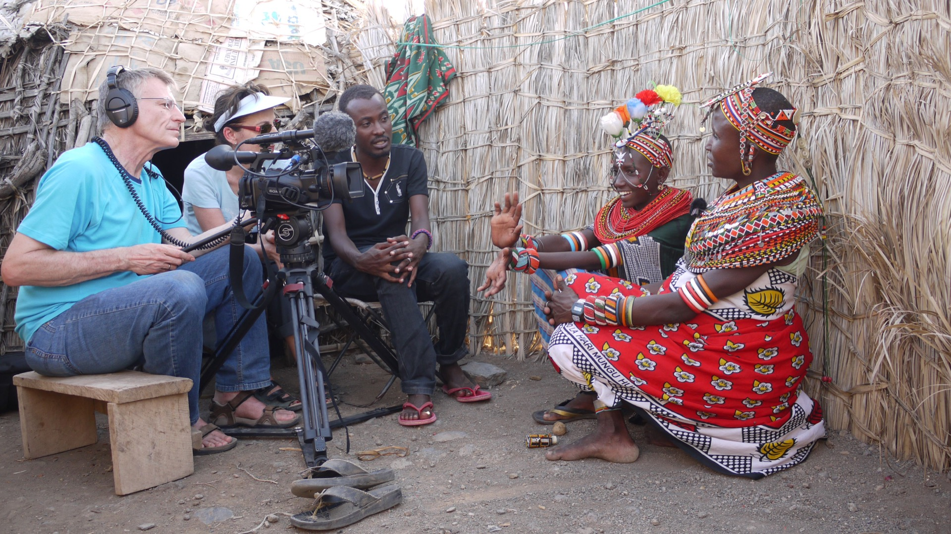 First interviews with chairwomen Talaso and daughter in law Teresia, 2012